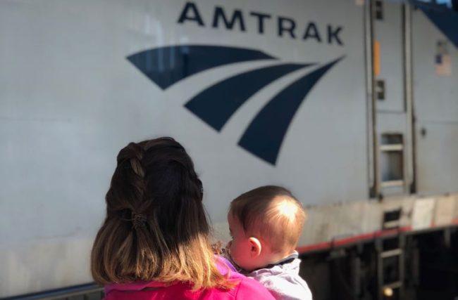 Amtrak: Viajando de Trem com Bebê