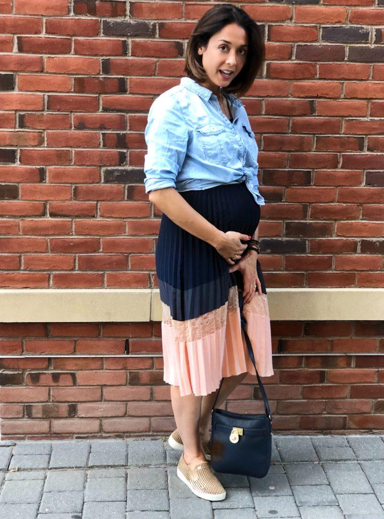 CHNI1973 758x1024 - É possível ser uma grávida estilosa sem gastar muito! Dicas por trimestre