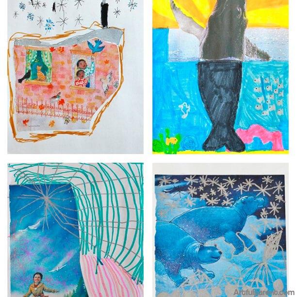 arte para crianças de 4 a 6 anos - Arte para Crianças e Adultos – Como tirar o máximo proveito?