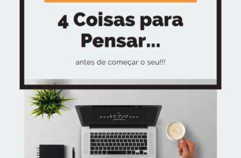 Negócio Digital: 4 Coisas Para Pensar!